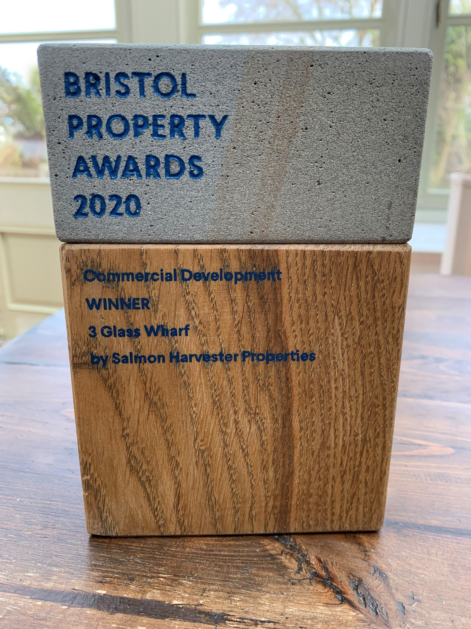 Bristol Property Awards, Best Commercial Development, 3 Glass Wharf